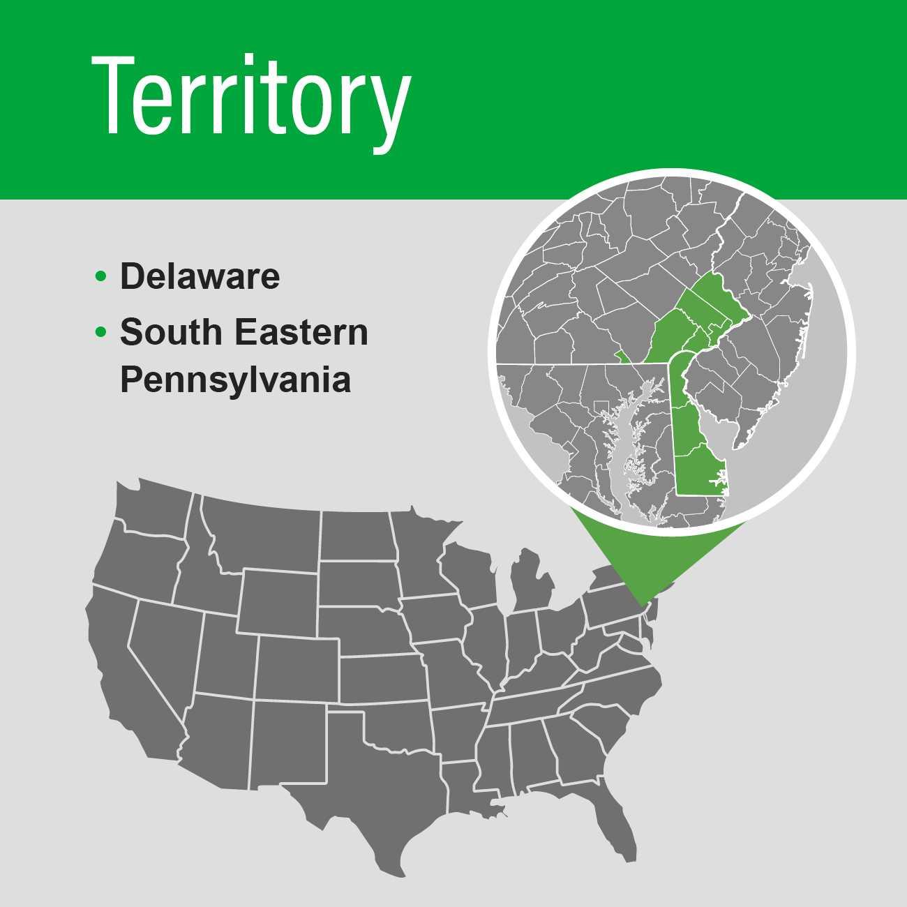 Aaron territory map