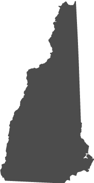 NH state outline